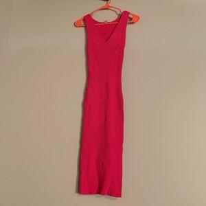 Bodycon Ribbed Michael Kors Midi Dress